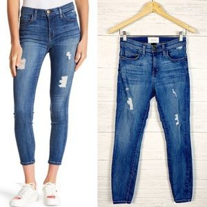 Current Elliott • The High Waist Stiletto Jean 25